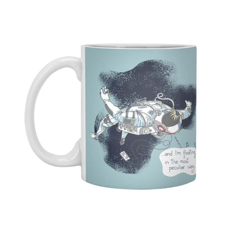 Dark Peculiar Oddity Accessories Standard Mug by JQBX Store - Listen Together
