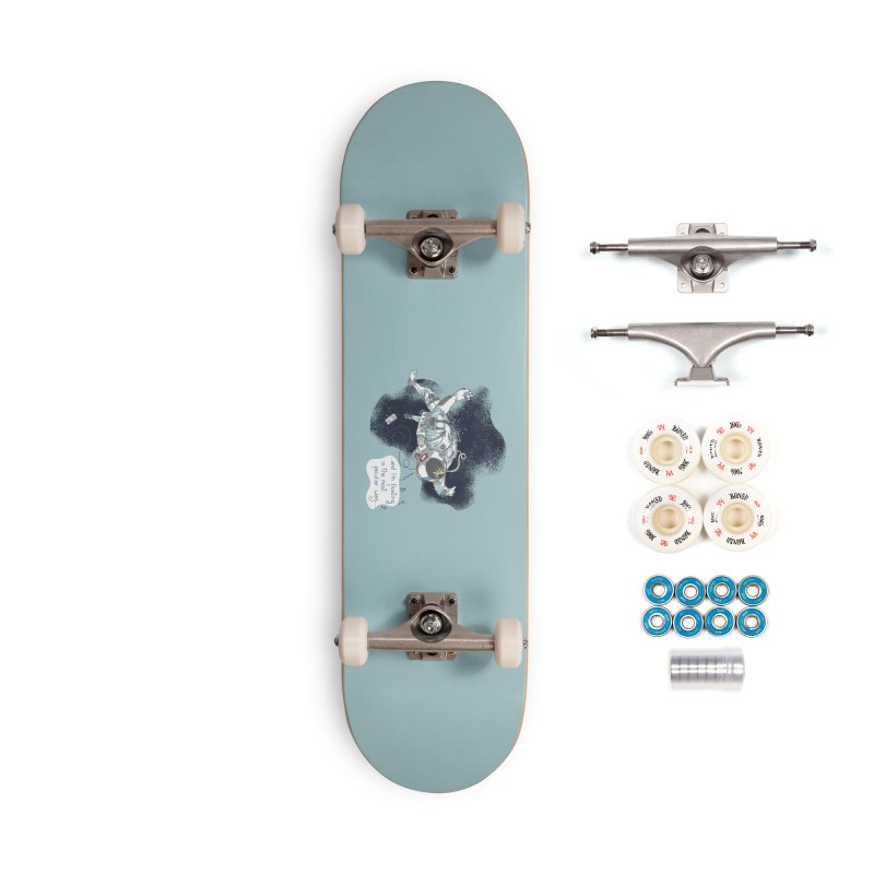 Dark Peculiar Oddity Accessories Complete - Premium Skateboard by JQBX Store - Listen Together