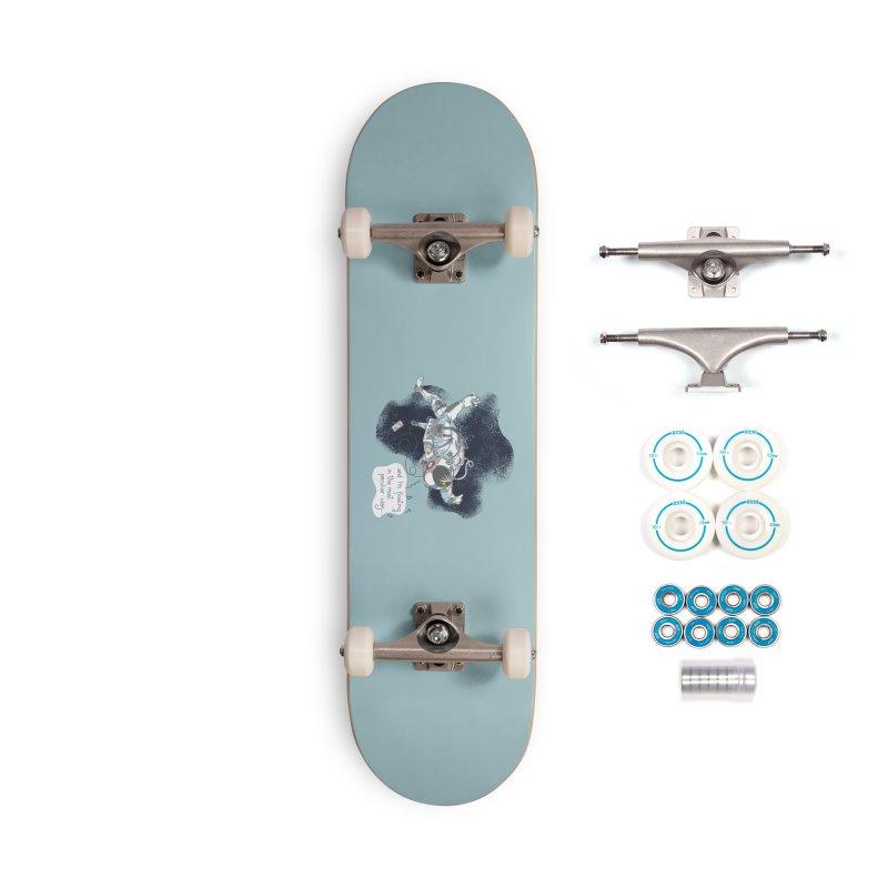 Dark Peculiar Oddity Accessories Skateboard by JQBX Store - Listen Together