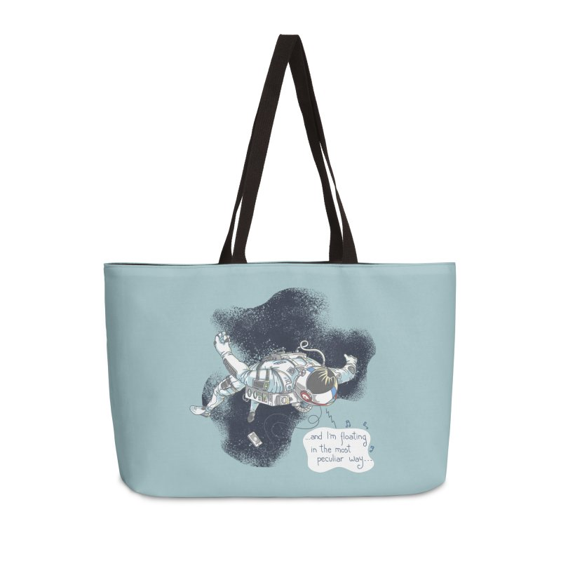 Dark Peculiar Oddity Accessories Weekender Bag Bag by JQBX Store - Listen Together