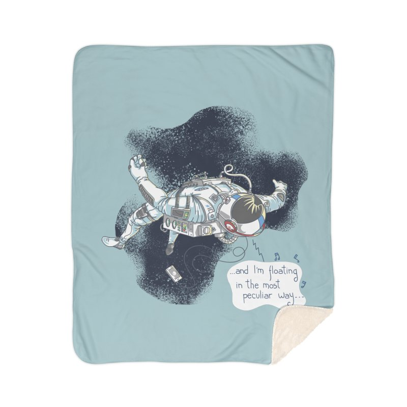 Dark Peculiar Oddity Home Blanket by JQBX Store - Listen Together