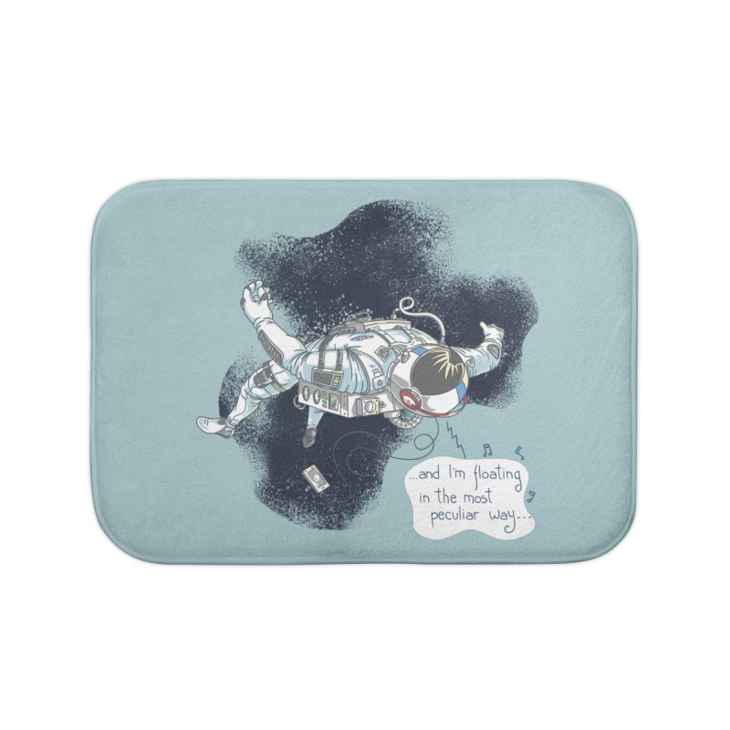 Dark Peculiar Oddity Home Bath Mat by JQBX Store - Listen Together