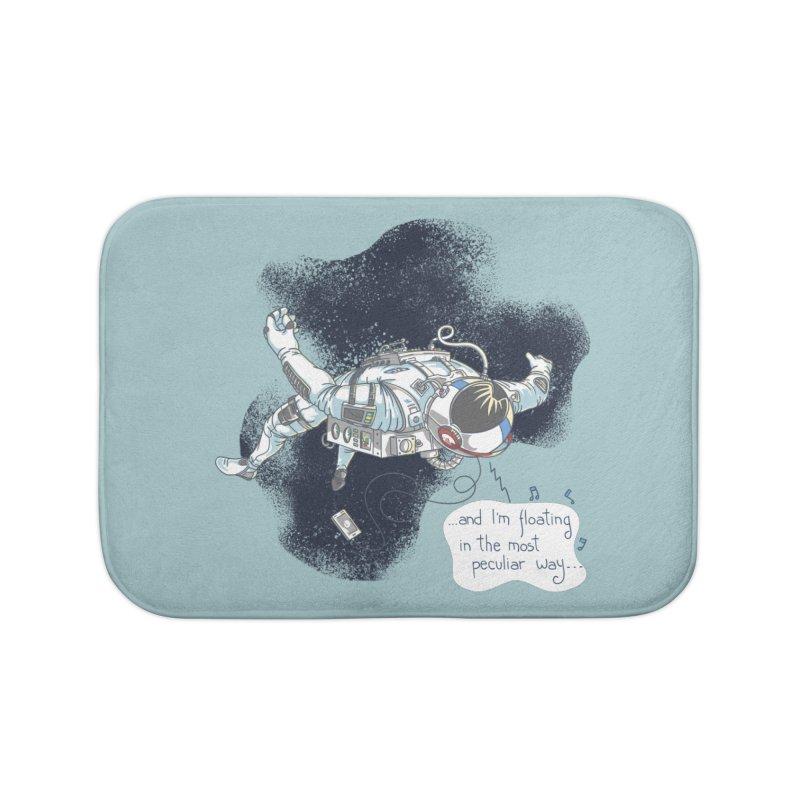 Dark Peculiar Oddity Home Bath Mat by JQBX Store - Listen Together