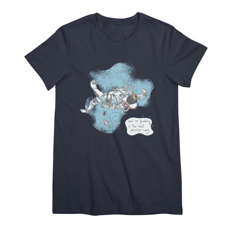 Bright Peculiar Oddity Women's Premium T-Shirt by JQBX Store - Listen Together