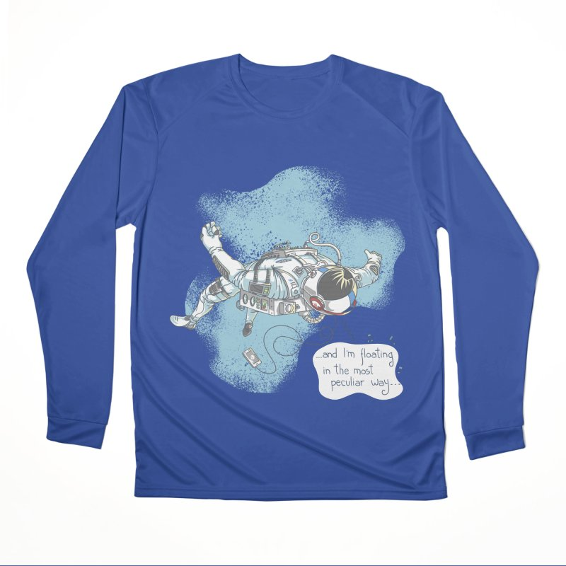 Bright Peculiar Oddity Women's Performance Unisex Longsleeve T-Shirt by JQBX Store - Listen Together