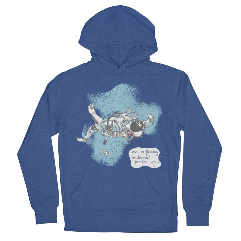Bright Peculiar Oddity Women's French Terry Pullover Hoody by JQBX Store - Listen Together