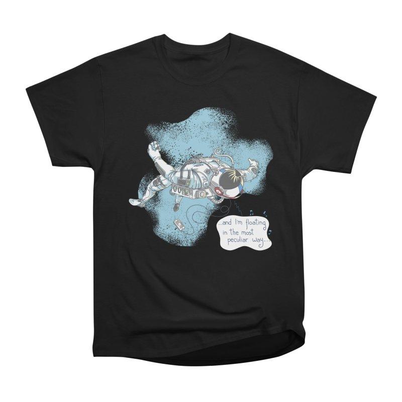 Bright Peculiar Oddity Women's Heavyweight Unisex T-Shirt by JQBX Store - Listen Together