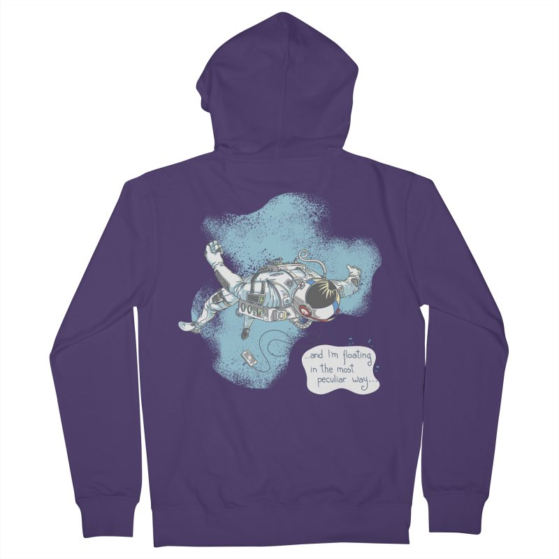 Bright Peculiar Oddity Women's Zip-Up Hoody by JQBX Store - Listen Together