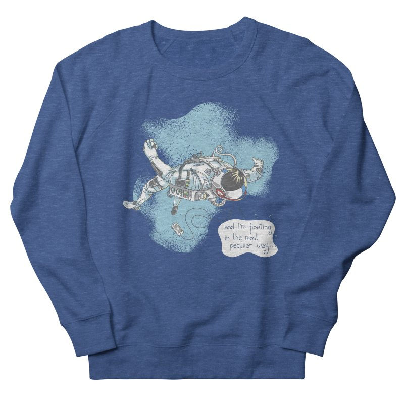 Bright Peculiar Oddity Women's Sweatshirt by JQBX Store - Listen Together