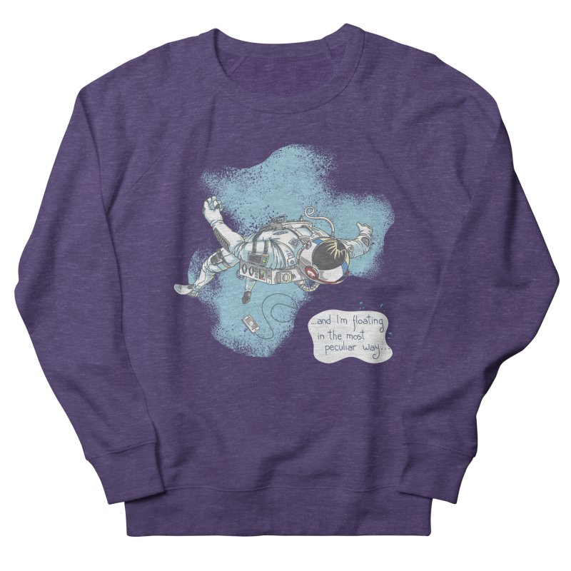 Bright Peculiar Oddity Women's French Terry Sweatshirt by JQBX Store - Listen Together
