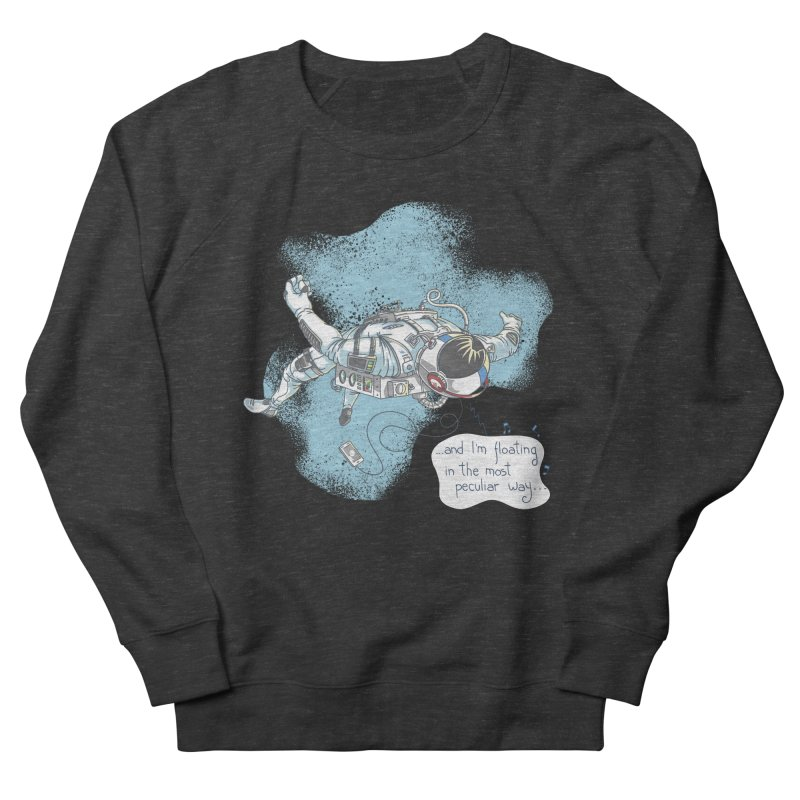 Bright Peculiar Oddity Men's French Terry Sweatshirt by JQBX Store - Listen Together