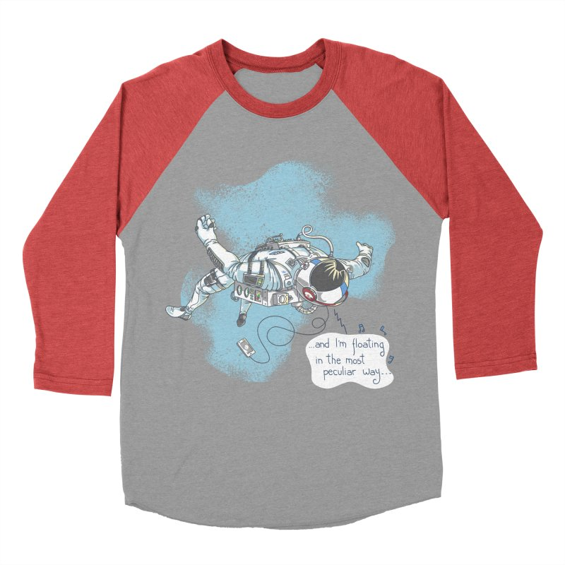 Bright Peculiar Oddity Women's Baseball Triblend Longsleeve T-Shirt by JQBX Store - Listen Together