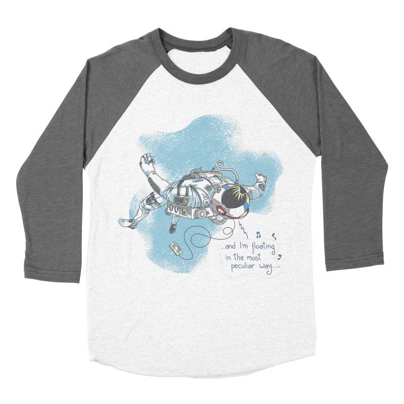 Bright Peculiar Oddity Men's Baseball Triblend Longsleeve T-Shirt by JQBX Store - Listen Together