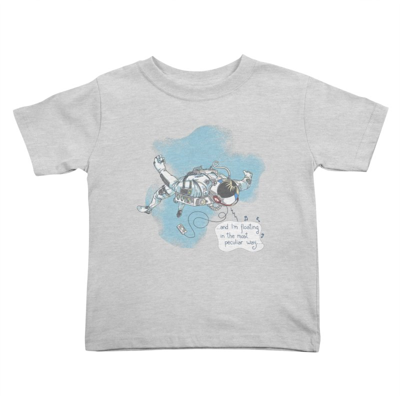 Bright Peculiar Oddity Kids Toddler T-Shirt by JQBX Store - Listen Together