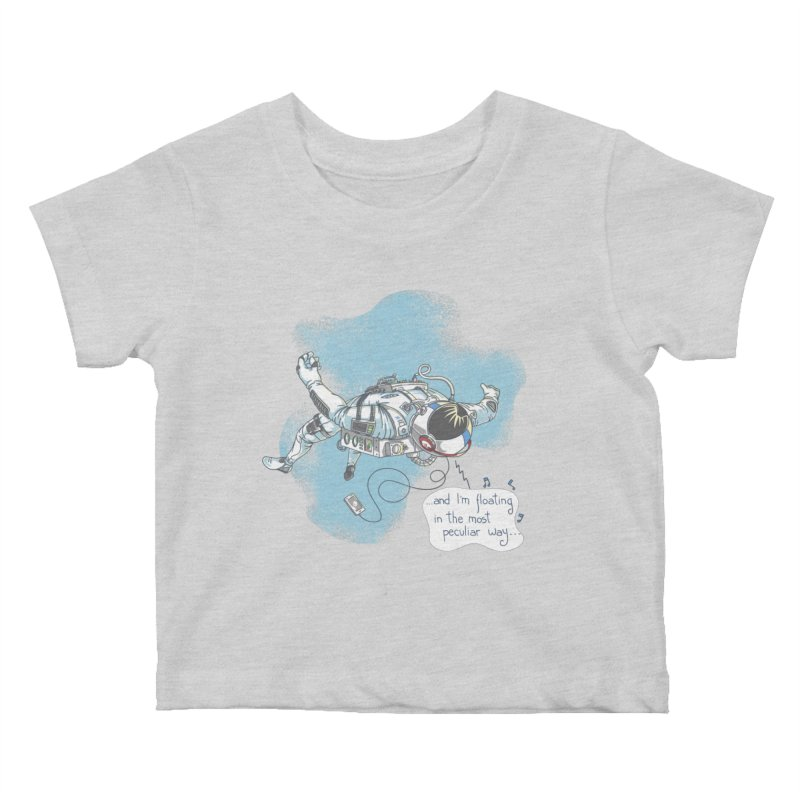 Bright Peculiar Oddity Kids Baby T-Shirt by JQBX Store - Listen Together