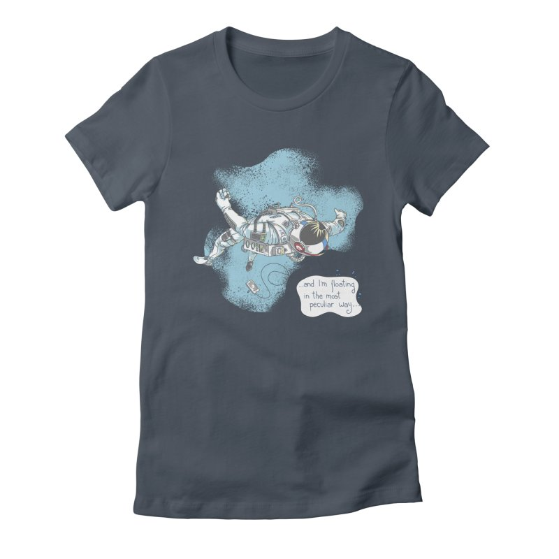 Bright Peculiar Oddity Women's T-Shirt by JQBX Store - Listen Together