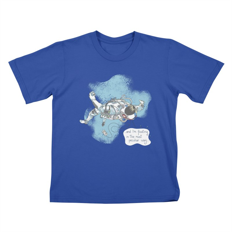 Bright Peculiar Oddity Kids T-Shirt by JQBX Store - Listen Together