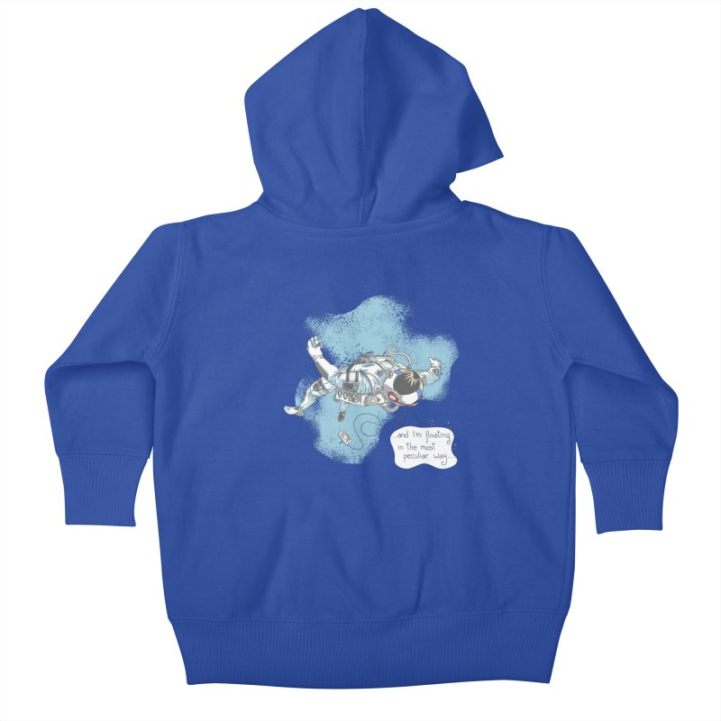 Bright Peculiar Oddity Kids Baby Zip-Up Hoody by JQBX Store - Listen Together