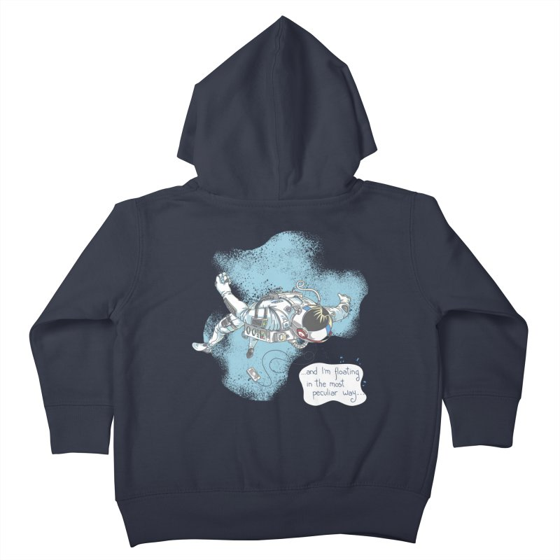 Bright Peculiar Oddity Kids Toddler Zip-Up Hoody by JQBX Store - Listen Together