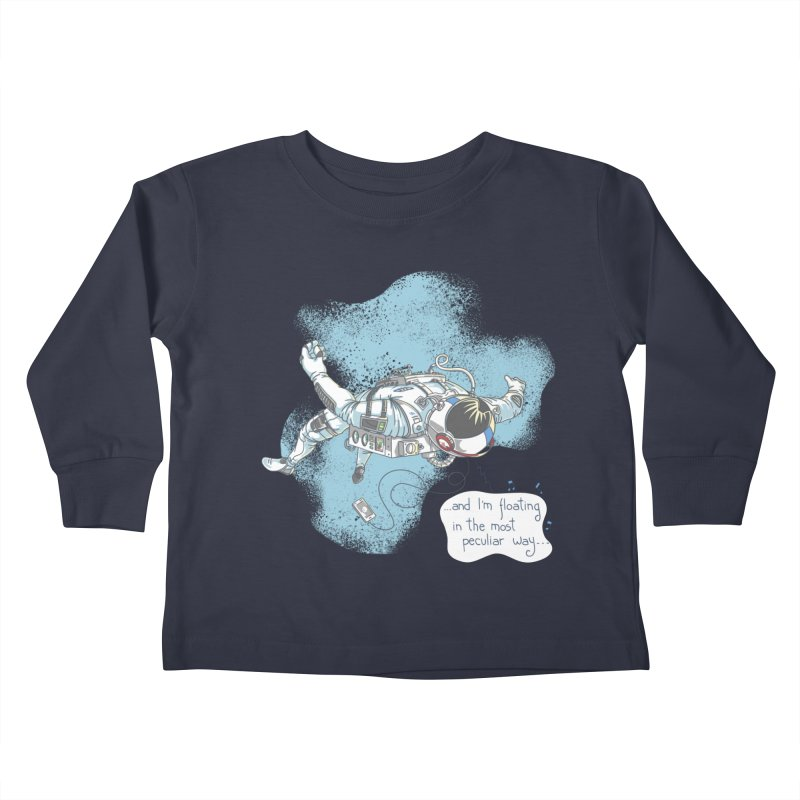 Bright Peculiar Oddity Kids Toddler Longsleeve T-Shirt by JQBX Store - Listen Together