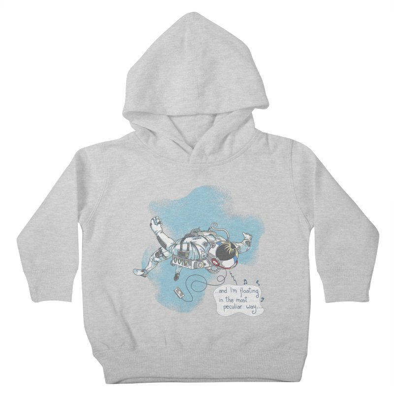Bright Peculiar Oddity Kids Toddler Pullover Hoody by JQBX Store - Listen Together