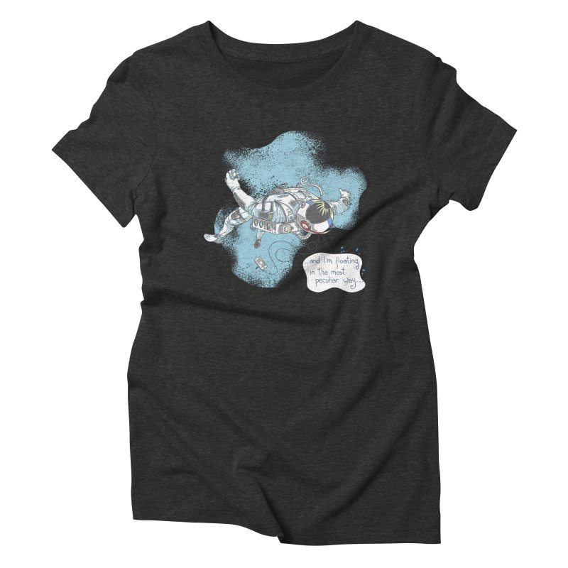 Bright Peculiar Oddity Women's Triblend T-Shirt by JQBX Store - Listen Together