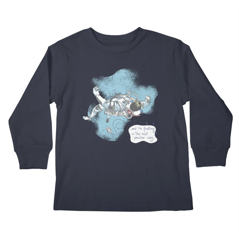 Bright Peculiar Oddity Kids Longsleeve T-Shirt by JQBX Store - Listen Together