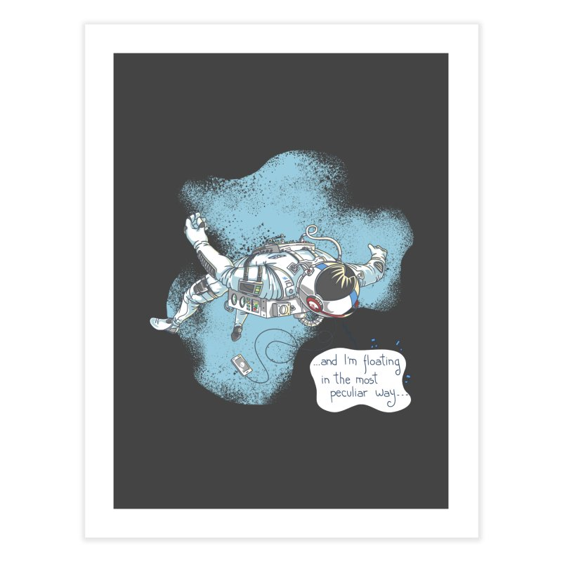 Bright Peculiar Oddity Home Fine Art Print by JQBX Store - Listen Together