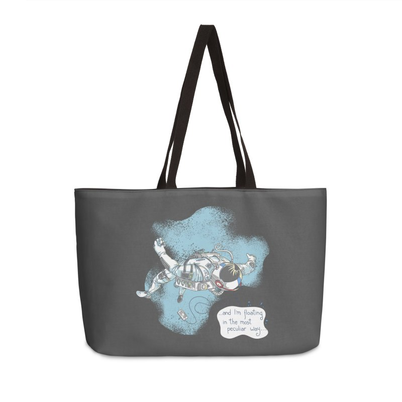 Bright Peculiar Oddity Accessories Weekender Bag Bag by JQBX Store - Listen Together