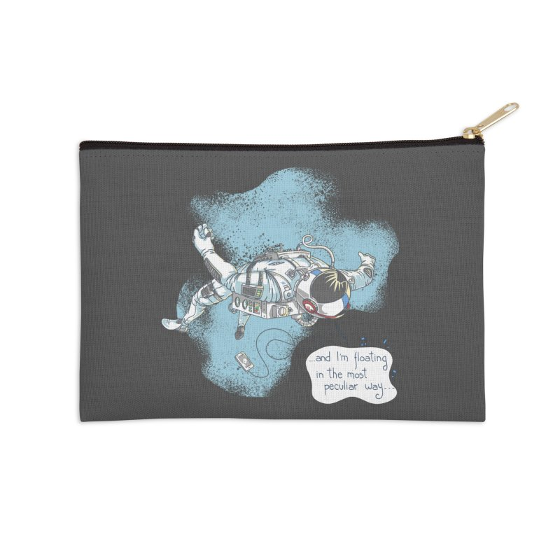 Bright Peculiar Oddity Accessories Zip Pouch by JQBX Store - Listen Together