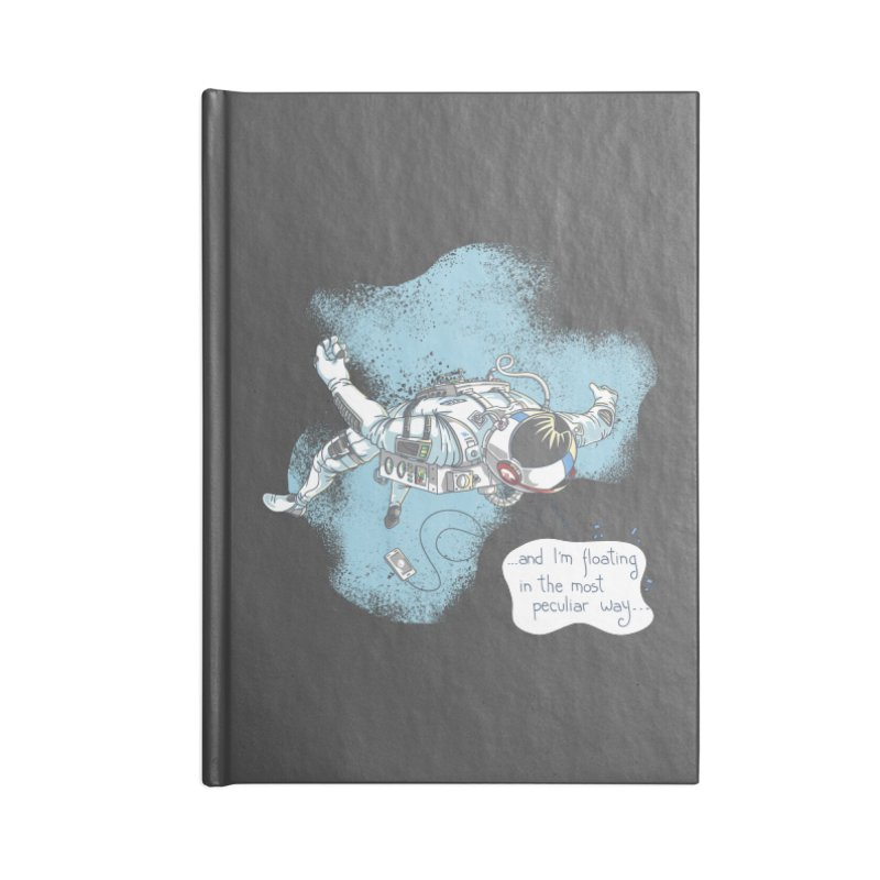 Bright Peculiar Oddity Accessories Lined Journal Notebook by JQBX Store - Listen Together