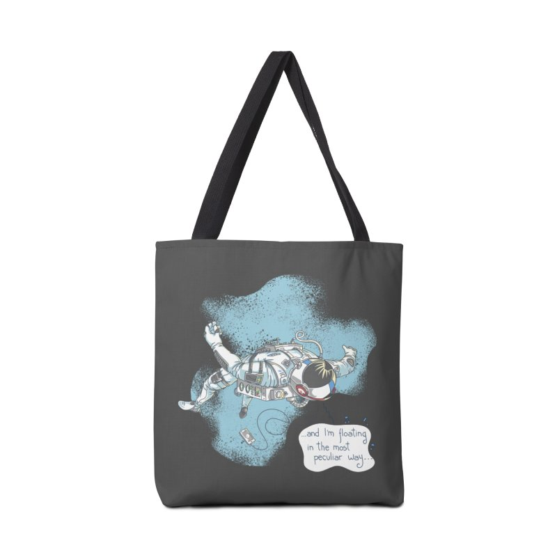 Bright Peculiar Oddity Accessories Tote Bag Bag by JQBX Store - Listen Together
