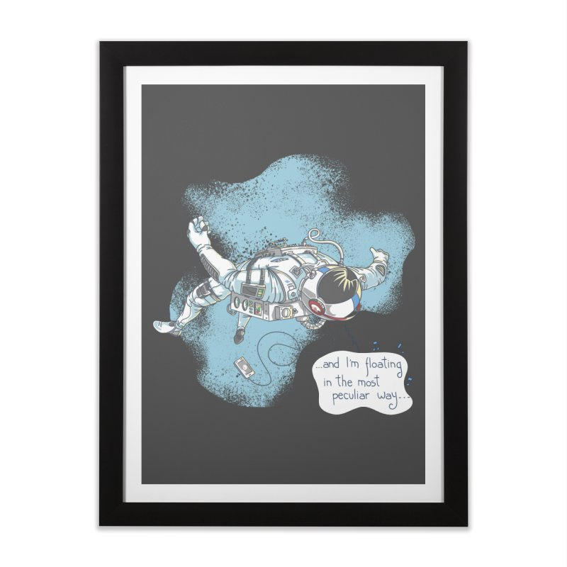 Bright Peculiar Oddity Home Framed Fine Art Print by JQBX Store - Listen Together