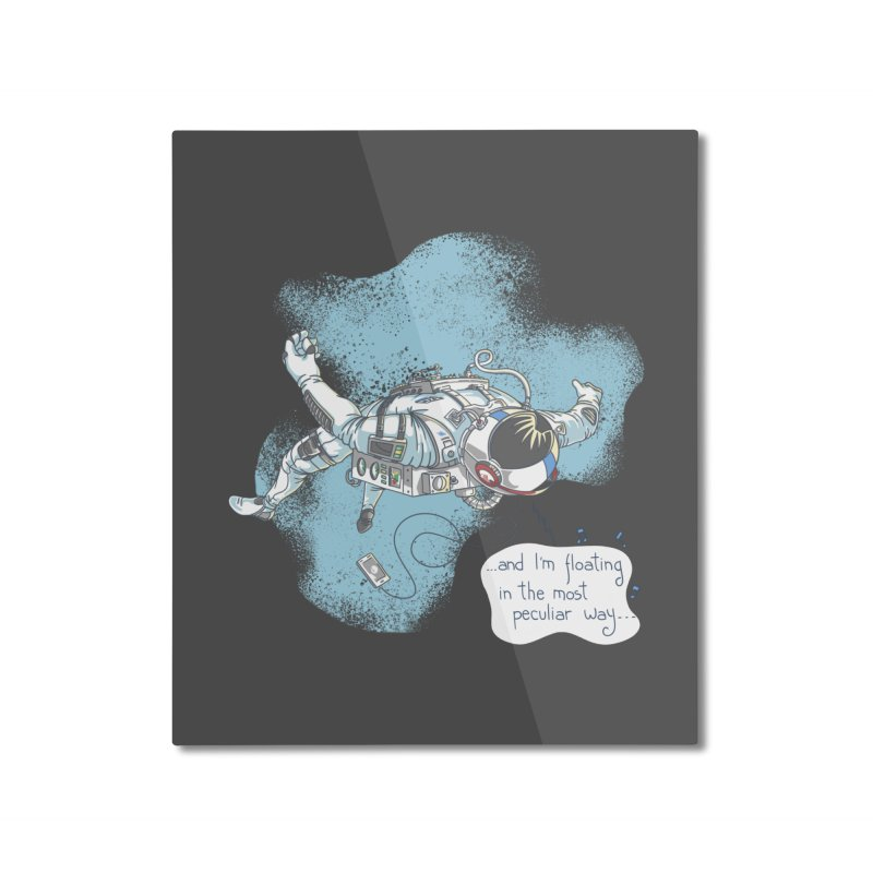 Bright Peculiar Oddity Home Mounted Aluminum Print by JQBX Store - Listen Together