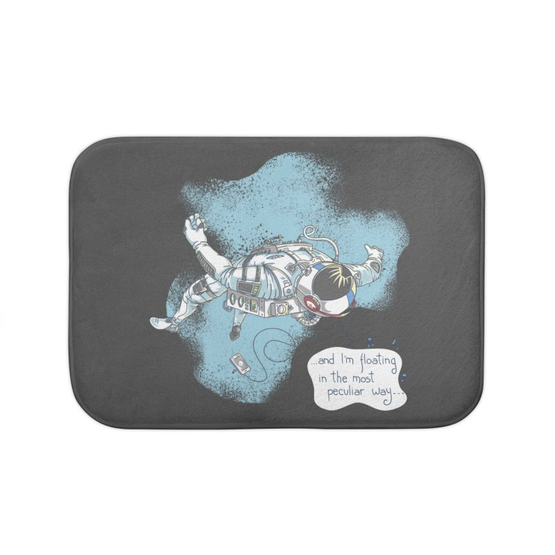 Bright Peculiar Oddity Home Bath Mat by JQBX Store - Listen Together