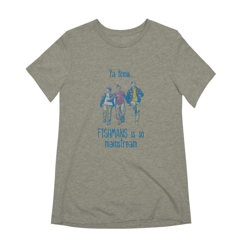 The Mainstreamers Fishmans Women's Extra Soft T-Shirt by JQBX Store - Listen Together