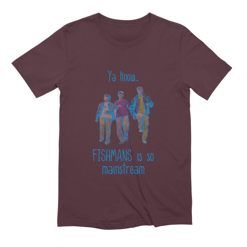 The Mainstreamers Fishmans Men's Extra Soft T-Shirt by JQBX Store - Listen Together