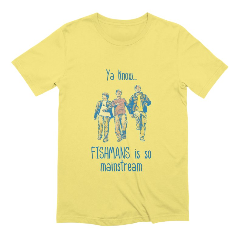 The Mainstreamers Fishmans Men's T-Shirt by JQBX Store - Listen Together