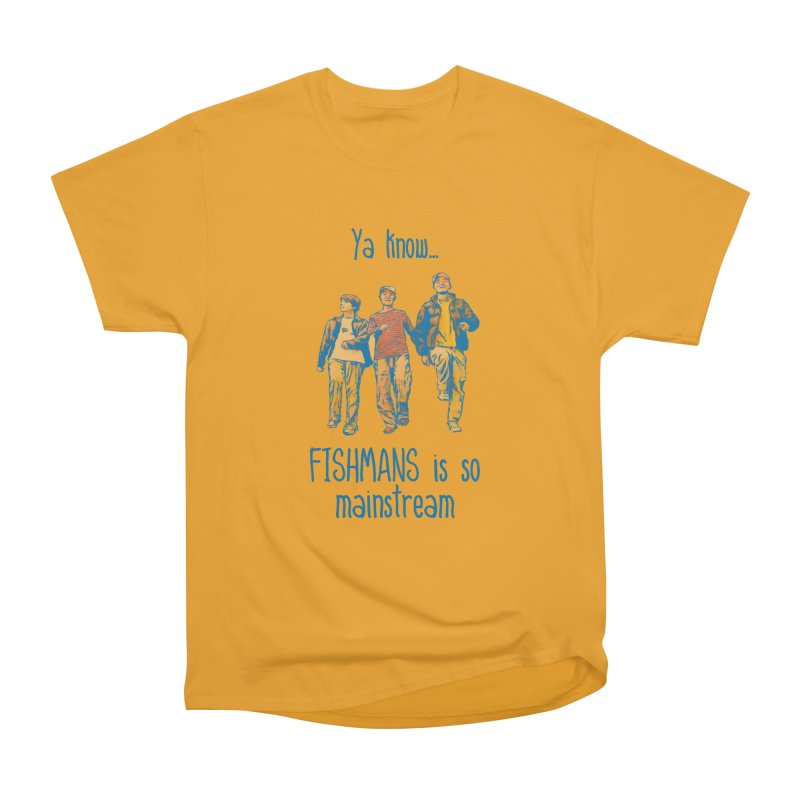 The Mainstreamers Fishmans Men's Heavyweight T-Shirt by JQBX Store - Listen Together