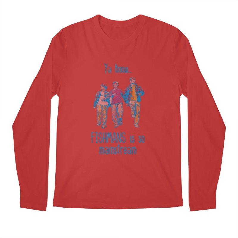 The Mainstreamers Fishmans Men's Regular Longsleeve T-Shirt by JQBX Store - Listen Together