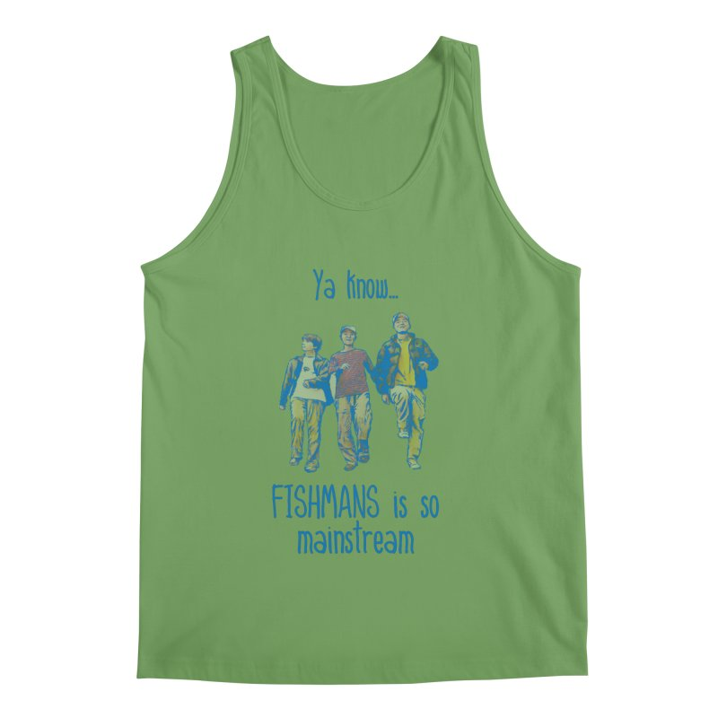 The Mainstreamers Fishmans Men's Tank by JQBX Store - Listen Together