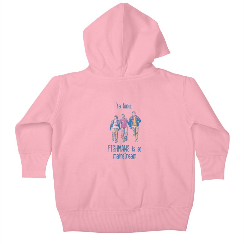 The Mainstreamers Fishmans Kids Baby Zip-Up Hoody by JQBX Store - Listen Together