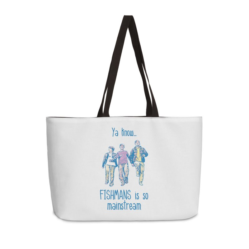 The Mainstreamers Fishmans Accessories Weekender Bag Bag by JQBX Store - Listen Together