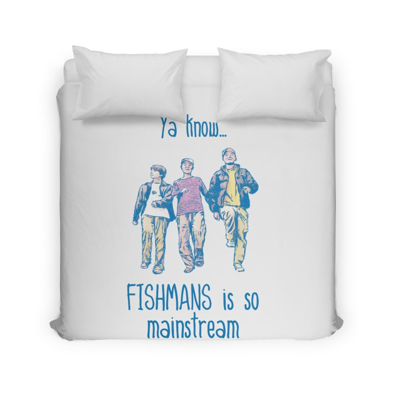 The Mainstreamers Fishmans Home Duvet by JQBX Store - Listen Together