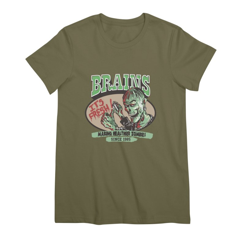 Freshly picked Women's Premium T-Shirt by JQBX Store - Listen Together