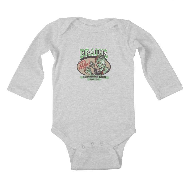 Freshly picked Kids Baby Longsleeve Bodysuit by JQBX Store - Listen Together