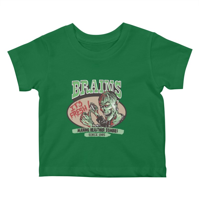 Freshly picked Kids Baby T-Shirt by JQBX Store - Listen Together