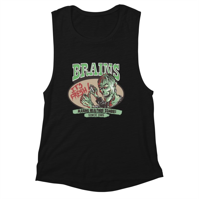 Freshly picked Women's Muscle Tank by JQBX Store - Listen Together