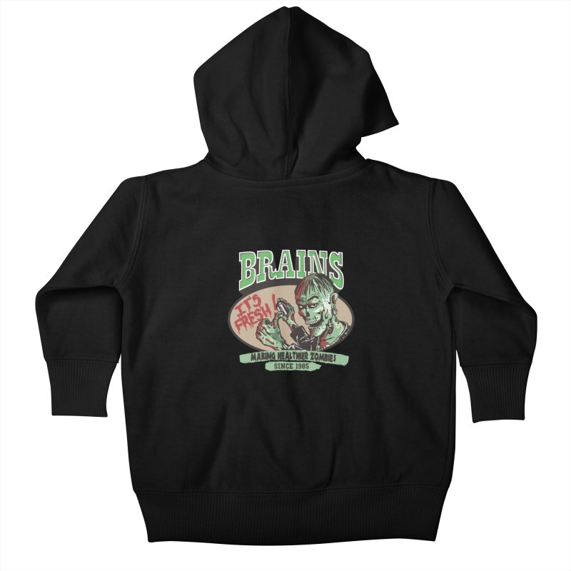Freshly picked Kids Baby Zip-Up Hoody by JQBX Store - Listen Together