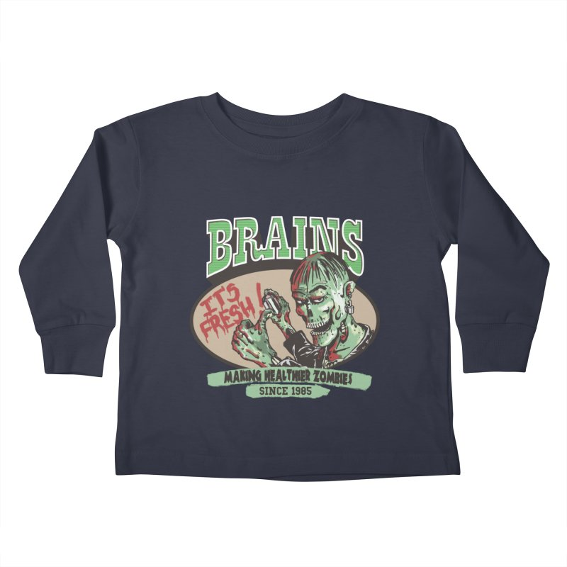 Freshly picked Kids Toddler Longsleeve T-Shirt by JQBX Store - Listen Together